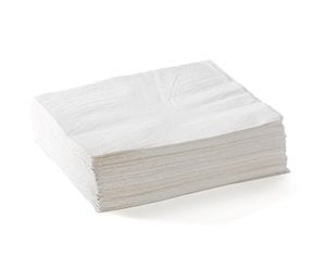Thumbnail 2 Ply 1/4 Fold Lunch BioNapkins White 2000 Per Carton