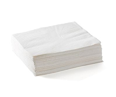 2 Ply 1/4 Fold Lunch BioNapkins White 2000 Per Carton