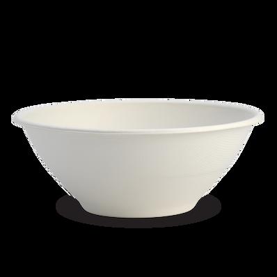 40oz White BioCane Bowl