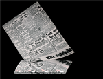 Newsprint Greaseproof Paper 35GSM