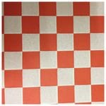 Red Check Printed Greaseproof Paper - 35 GSM