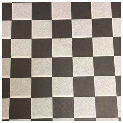 Black Check Printed Greaseproof Paper-35 GSM