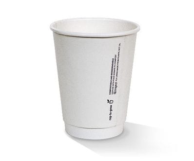 12oz PLA lined Double wall hot cup