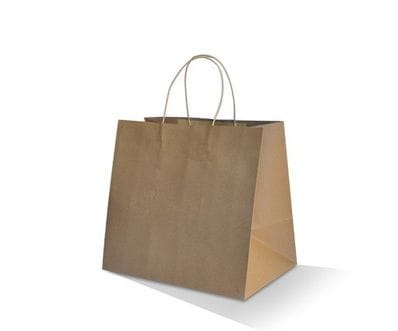 Medium Plus Brown Takeaway Bag
