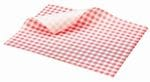 Gingham 35GSM 190x150 Red/White