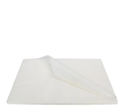White Greaseproof Paper Full Size 400x660