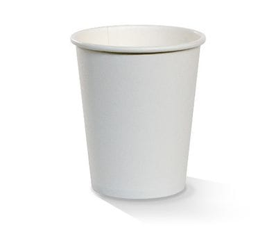 6oz White PE lined Hot Cup Single Wall