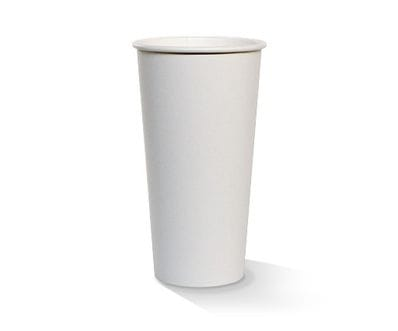 20oz White PE lined Hot Cup