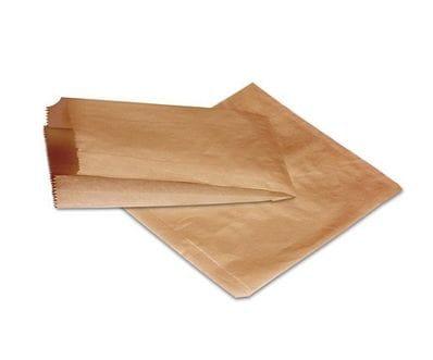 1/2LB 150x127mm Recycled Kraft Flat Bag