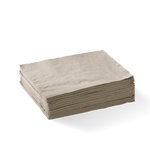 1 Ply 1/4 fold lunch napkins natural