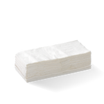 2 Ply 1/8 Fold White Lunch Bionapkin