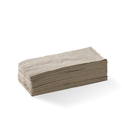 2 Ply 1/18 Fold Natural Lunch Bionapkin