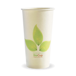 595ml/20oz(90mm) Leaf Single Wall Biocup
