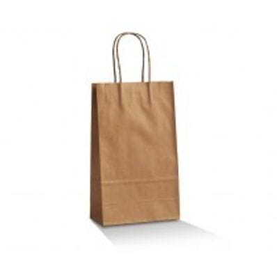 Slim Brown Takeaway Bag