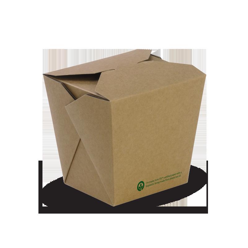 32oz BioBoard Noodle Box