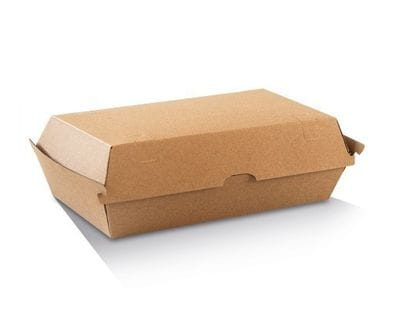 205x106x95mm High Large Kraft Snack Box.