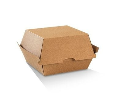 High Kraft Burger Box