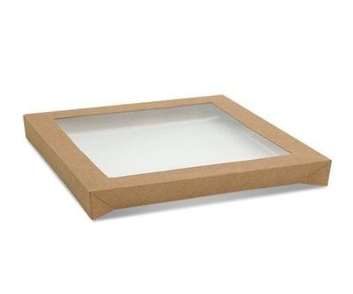 Kraft Catering Tray Lid- Large