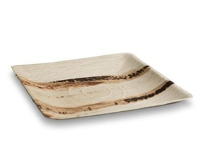 Square Palm Leaf Plate- Large