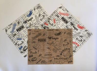 Bagelwrap Greaseproof Paper- 35GSM