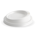 90mm White lid Fits 8oz uni-lid, 12, 16 & 20oz Cups