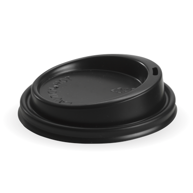 90mm Black lid Fits 8oz uni-lid, 12, 16 & 20oz Cups