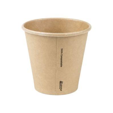 8oz(90mm) PLA Raw Single Wall Hot Cup