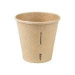 8oz(90mm) PLA Raw Single Wall Hot Cup