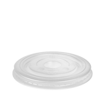 White PP Flat PS Lid