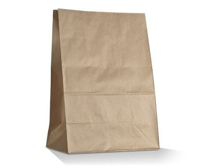 Large SOS Brown Bag
