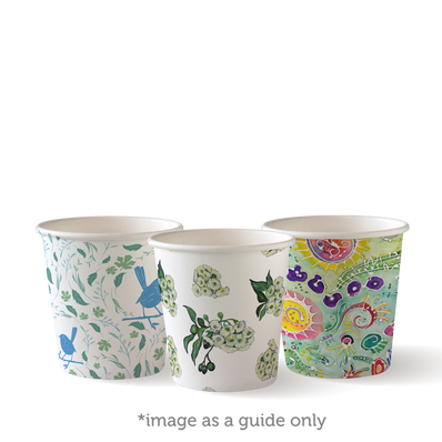 4 oz Single Wall Art Series BioCups