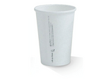 10oz PLA Lined Single Wall White Cup.