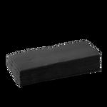 2 Ply 1/8 Fold Black Bionapkin