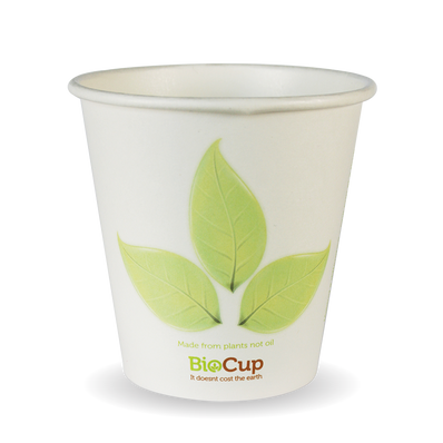 230ml/6oz(80mm) Leak Single Wall Biocup