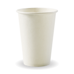 320ml/10oz(80mm) White Single Wall Biocup
