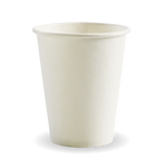 280ml/8oz(80mm) White Single Wall Biocup