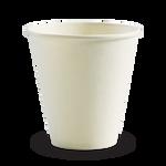 280ml/8oz(90mm) White Single Wall Biocup