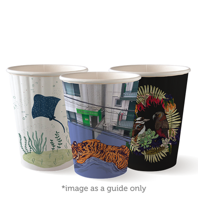 390ml/12oz(90mm) Art Series Double Wall Biocup