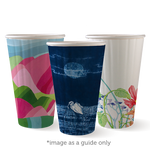 460ml/16oz(90mm) Art Series Double Wall Biocup