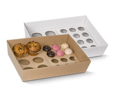 Cupcake Insert To Fit Small Tray-12 Holes