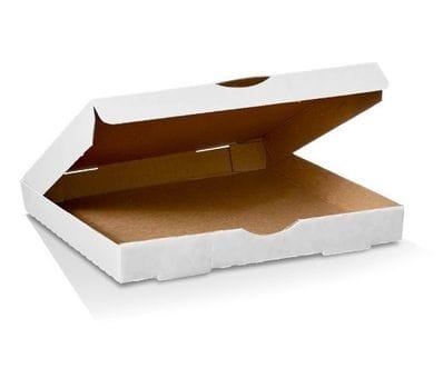 """15"""" White Pizza Box"""