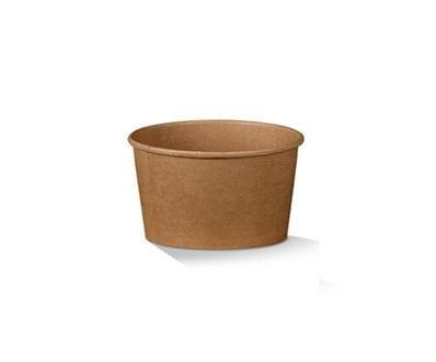 8oz Brown Kraft Bowl