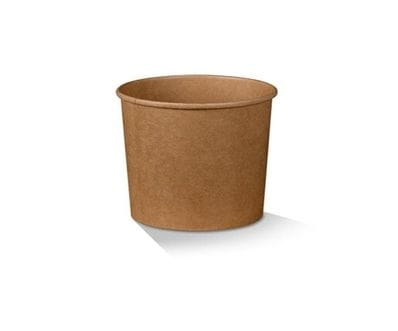 12oz Brown Kraft Bowl