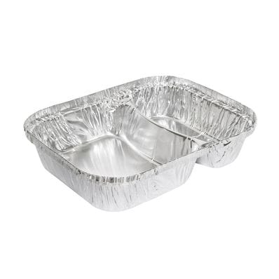 600ml 2 Compartment Takeaway Tray