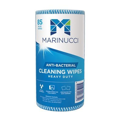 Heavy Duty Anti-Bacterial Blue Wipes