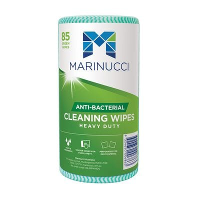Heavy Duty Anti-Bacterial Green Wipes