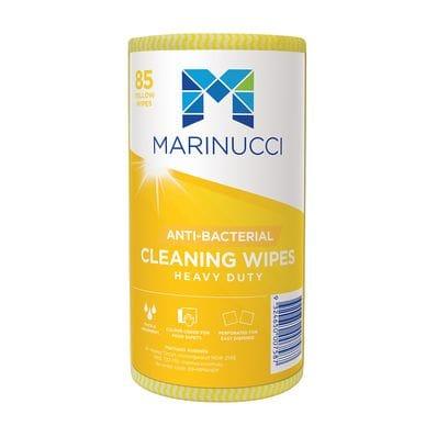 Heavy Duty Anti-Bacterial Yellow Wipes