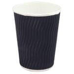 8oz Uni Lid(90mm) Cool Wave Dual Wall Cup