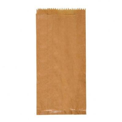 235x127x51mm Brown Paper Satchel Bag