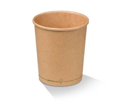 32oz/970ml PLA Kraft Paper Bowl